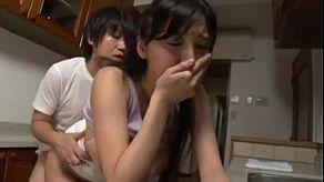 Nhật Bản với ngực to Yuuri Himeno chết tiệt trước những webcam